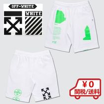 【Off-White】Arch Shapes Sweat Shorts