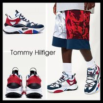 【Tommy Hilfiger】新作! TOMMY JEANS X AAPE TRAINERS 厚底 白