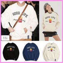 ROMANTIC CROWN☆BTS V(テテ)着用☆GOOD LIFE SWEAT SHIRT