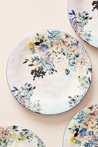 セール! Anthropologie Gardenshire Dinner Plates, Set of 4