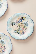 セール! Anthropologie Gardenshire Side Plates, Set of 4