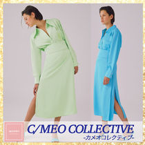 ★C/MEO COLLECTIVE★両サイドスリット/スカート関・送込
