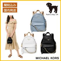 【Michael Kors】Pebbled Leather Backpack◆国内発送◆