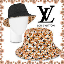 【LouisVuitton】★ 国内未入LV CRAFTY REVERSIBLE BUCKET HAT★