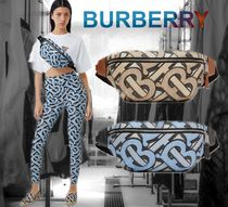【BURBERRY】モノグラムプリントE-Canvas Sonny Bumバッグ