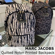 MARC JACOBS☆Quilted Nylon Printed Backpack☆バックパック☆