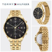 【Tommy Hilfiger】☆人気☆SUB-DIAL WATCH WITH GOLD-PLATED