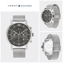 【Tommy Hilfiger】☆人気☆SUB-DIALS STAINLESS STEEL WATCH