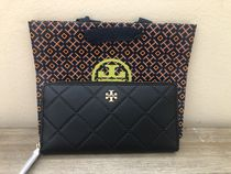 SALE!!★Tory Burch★ Georgie Leather Zip Continental 長財布