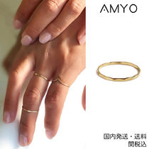 AMY O(エイミーオー) 指輪・リング 日本未入荷!AMY O★Hammered リング★クーポン付き