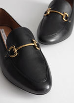 ☆& Other Stories☆Equestrian Buckle Loafers