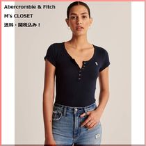 Abercrombie & Fitch(アバクロ)Short-Sleeve Icon Henley