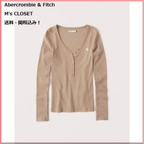 Abercrombie & Fitch(アバクロ)Long-Sleeve Icon Henley