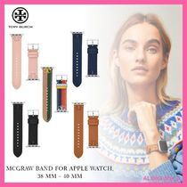 【Tory Burch】Apple Watch用レザーバンド♪38/40mm