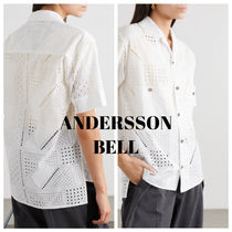 【ANDERSSON BELL】Andrea broderie anglaiseコットンシャツ
