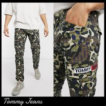 ★Tommy Jeans★カモフラ柄 カーゴパンツ 関税送料込