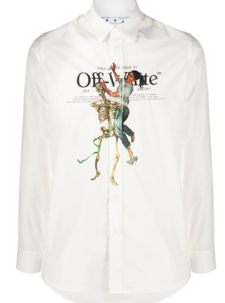 Off-White Pascal Painting シャツ/KM463 (Off-White/シャツ) 56953180