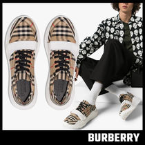 【BURBERRY】Vintage Check Sneakers