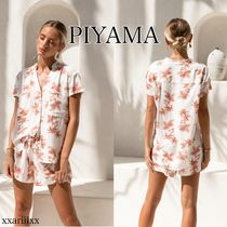 ◆NEW◆PIYAMA◆ MAGGIE VINTAGE PALM SUNSET パジャマセット