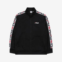 [ FILA ] Heritage Linear Tape Track Top (Black)