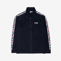 [ FILA ] Heritage Linear Tape Track Top (Ink navy)