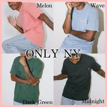 ONLY NY 新作 Premium Midweight ポケット 半袖 Tシャツ 4色