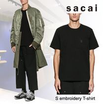 洒落感抜群◆ sacai ◆S embroidery T-shirt◆関税込
