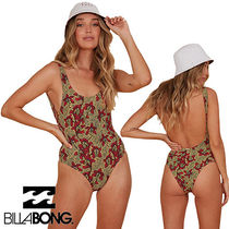 Billabong ★Sunbaked one piece★ フェミニン 花柄 水着