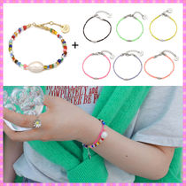 【VINTAGE HOLLYWOOD】Glass n Candy Beads Bracelet〜2個セット