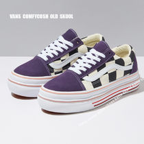 VANS★SUPER COMFYCUSH OLD SKOOL★厚底★チェック柄