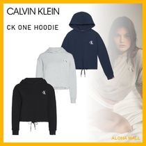 【Calvin Klein】CK ONE HOODIE♪おしゃれなロゴパーカー