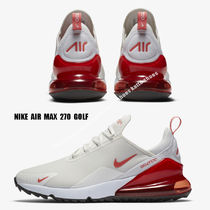 NIKE★AIR MAX 270 GOLF★ゴルフシューズ★SAIL/MAGIC EMBER
