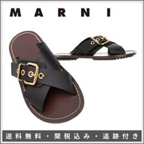 【限定SALE】MARNI♦Criss-Cross Sandals ベルトクロス