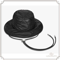 [BERLUTI]Quilted Leather Bucket Hat