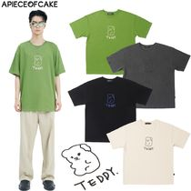 【A PIECE OF CAKE】TEDDY Tシャツ 4色