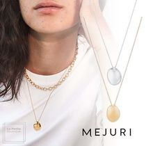 【MEJURI】20SS〇Floating Metal Necklace〇ネックレス〇各色