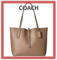 Coach(コーチ) マザーズバッグ 関税.送料込 COACH Polished Pebbled Leather Market トート