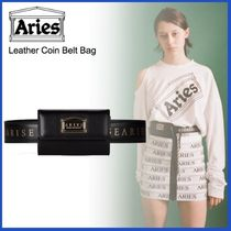 ARIES(アリーズ) バッグ・カバンその他 20AW◇LUXURYストリート◆ARIES◆Leather Coin Belt Bag