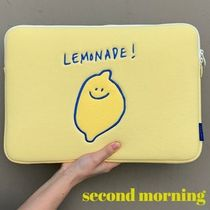 """""""second morning"""" PC pouch 韓国 デザイン 送料無料"""
