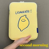 """""""second morning"""" ipad pouch 韓国 デザイン 送料無料"""