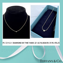 [Tiffany] Diamond By The Yard ゴールド 0.05ct ネックレス