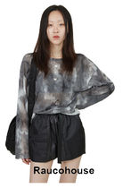 ●Raucohouse●LOOSE TIE-DYE MESH TOP
