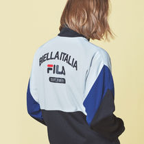 [ FILA ] New-Heritage Color Block Track Top (Gray) セレブ