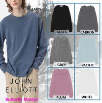 :: John Elliott :: LS UNIVERSITY TEE ロングスリーブTシャツ