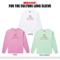 [MSCHF] FOR THE CULTURE LONG SLEEVE ☆3色☆
