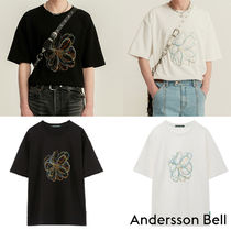 ★20SS★ANDERSSON BELL★SUMMER FLEUR EMBROIDERY T-SHIRT_2色