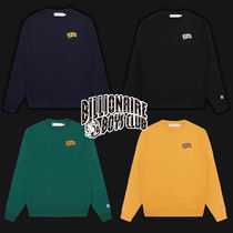 BILLIONAIRE BOYS CLUB EU CLASSICS☆SMALL ARCH LOGO CREWNECK