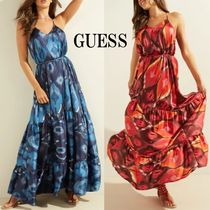 GUESS*ANGELICA MAXI DRESS*華やかなリゾートワンピース♪