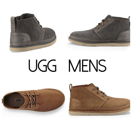 UGG☆NEUMEL UNLINED LEATHER BOOT☆メンズブーツ(2色展開)