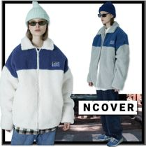 ★送料込★日本未入荷★ncover★Square patch fleece jacket 2色